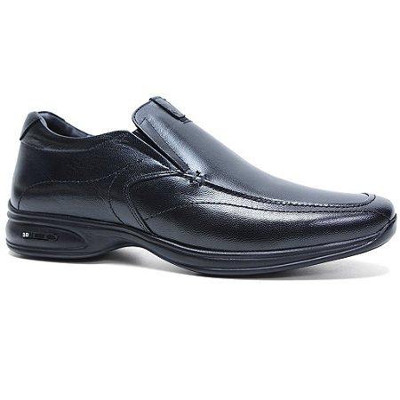 Sapato Jota Pe 3D 30001 Casual Conforto Masculino Preto