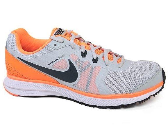 Tênis Nike Zoom Winflo 684488 Masculino Grey Laranja Black