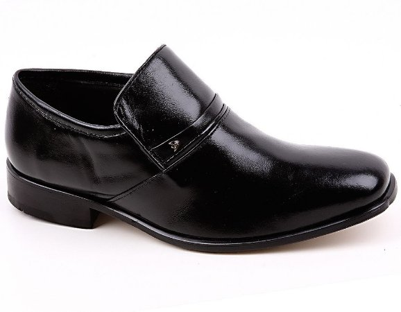 Sapato Calvest Esporte C62637 Couro Preto