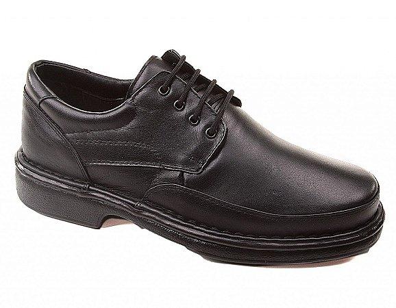 Sapato Luflex 6032 Masculino Preto