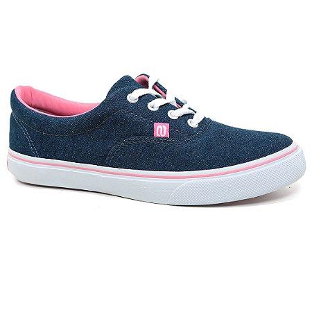 Tênis Whoop W7504 Azul Jeans Rosa
