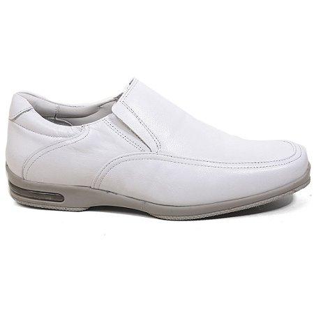 Sapato Calvest Maxi Confort 2020B684 Doctor Line Masculino Branco
