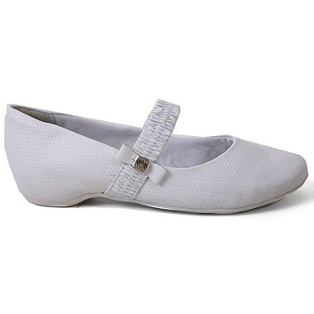 Sapatilha Comfortflex 16-94304 Boneca Feminina Branco