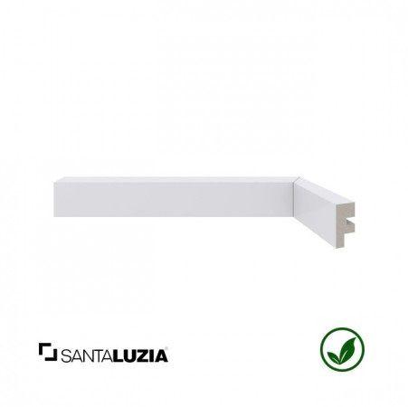 Rodapé Santa Luzia poliestireno 466 branco Moderna 3cm x 16mm x 2,40m