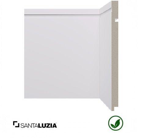 Rodapé Santa Luzia poliestireno 546 branco Moderna 25cm x 16mm x 2,40m