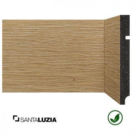 Rodapé Santa Luzia poliestireno 3496 Cumaru Coleção Reserva 15cm x 16mm x 2,40m