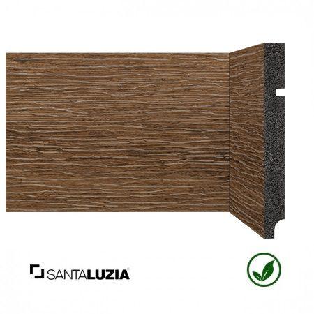 Rodapé Santa Luzia poliestireno 3496 Ipê escuro Coleção Reserva 15cm x 16mm x 2,40m