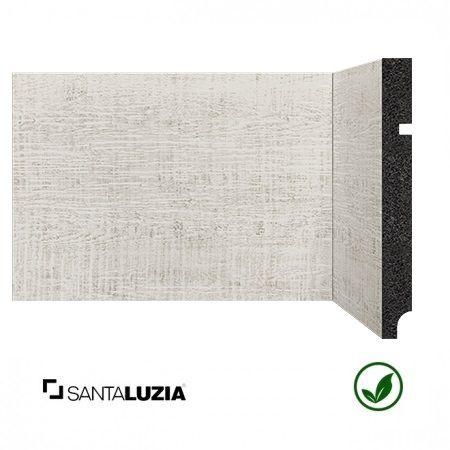 Rodapé Santa Luzia poliestireno 3496 Pátina Branca Coleção Reserva 15cm x 16mm x 2,40m