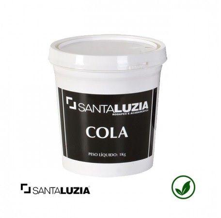 Cola Santa Luzia pote 1 kg (nova fórmula)