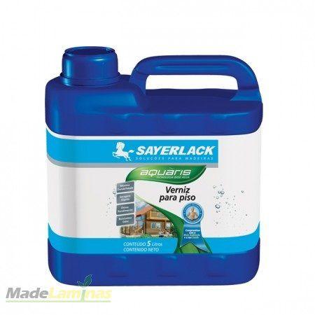 Verniz para Piso à base de água Acabamento 5 litros Aquaris