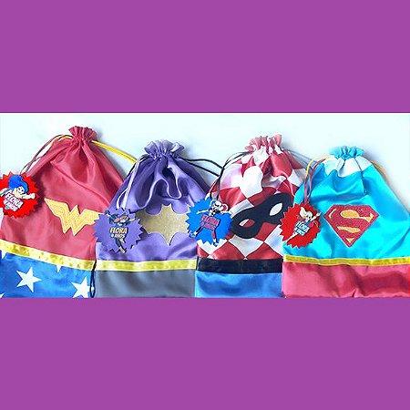 Mini mochilas - Super Hero Girls