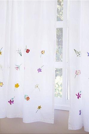 Cortina Florada, 35 flores do cerrado