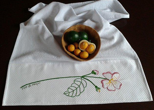 Pano de prato Flor de pequi - SOB CONSULTA
