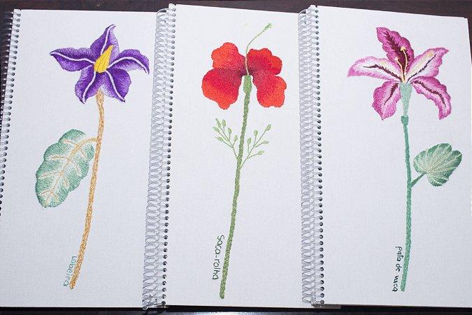 Cadernetas Pássaros e ou Flores dos Cerrado - SOB CONSULTA