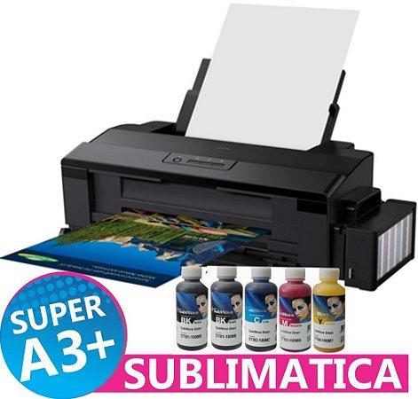 Impressora Epson L1300 A3 Tanque De Tinta Sublimática 500ml