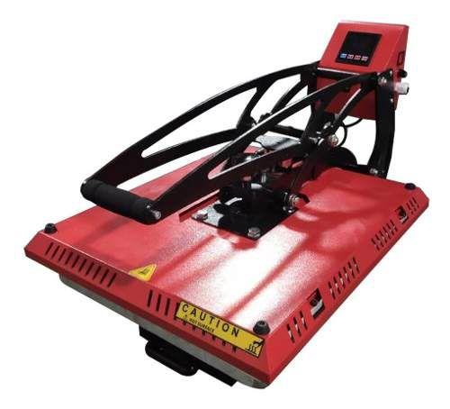 Prensa Térmica Plana (base DESLIZANTE 40x50) Com Trava Magnética 220V