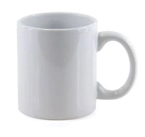 Caneca de Café para Sublimação 200ml ( Cafézinho )