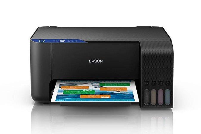 Epson Multifuncional L3110 Com Bulk + 400ml Tinta Sublimática