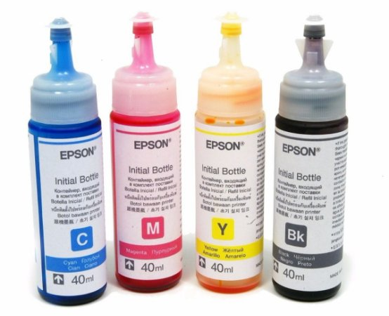 Kit 4 Tinta Epson Original L120