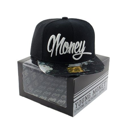 BONE ABA RETA YOUNG MONEY SNAPBACK PTO MONEY FLORAL