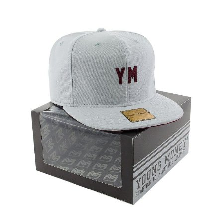 BONE ABA RETA YOUNG MONEY STRAPBACK DAD HAT YM WINE