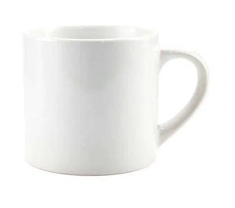 CX 48un Caneca de ceramica 6oz 180ml Para Sublimação ( Cafézinho )