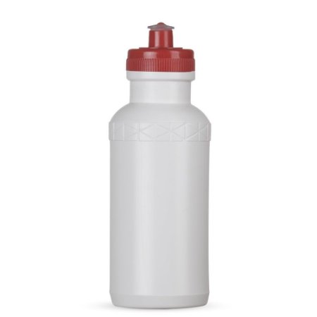 Squeeze 500ml Plástico Tampa Vermelha