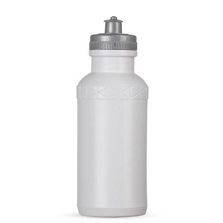 Squeeze 500ml Plástico Tampa Cinza