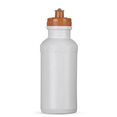 Squeeze 500ml Plástico Tampa Laranja