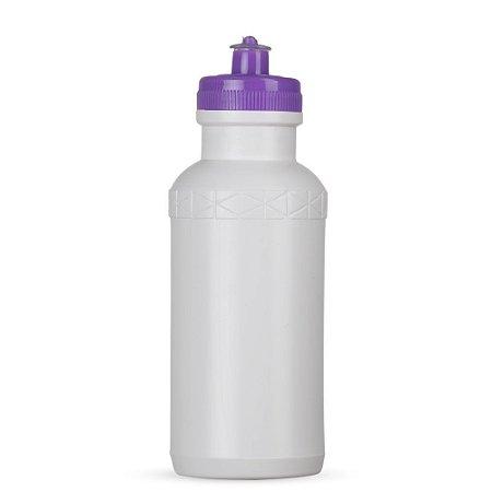 Squeeze 500ml Plástico Tampa Roxo