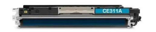 Toner Compativel Cyano para Impressora HP CP1025 CP1025nw CP1020 M175a M175nw M176n M177fw M275nw