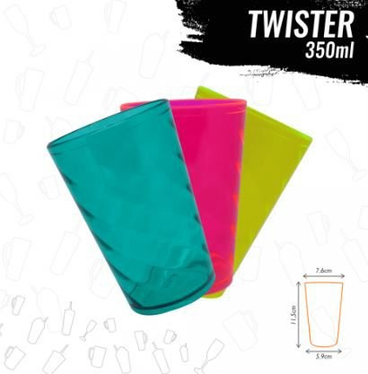 COPO MINI TWISTER 350ml