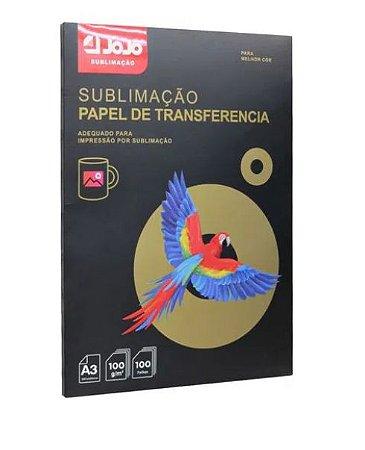 Papel para Sublimação JOJO A3 100g - 100 Folhas - 1 - Pacote