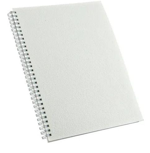 CADERNO GRANDE PERMANENTE 100 FLS COM CAPA PET P/SUBLIMAÇÃO (20,4 x 27,6cm) -