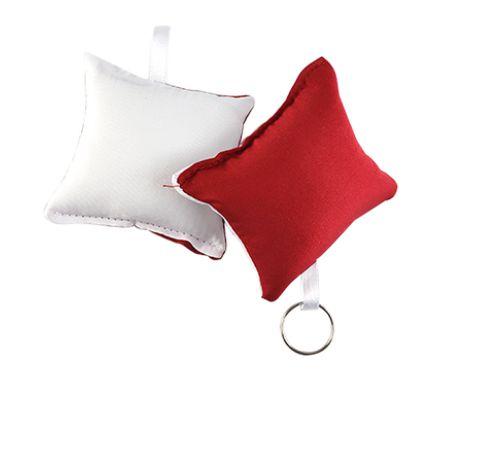 Almochaveiro Branco/Vermelho 7x7cm - 5 Unidades