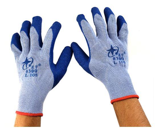 Luva Térmica de Nitrilo Azul para Uso em Sublimação