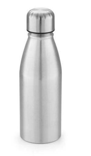 Garrafa de Alumínio Prata para Sublimação - 350ml