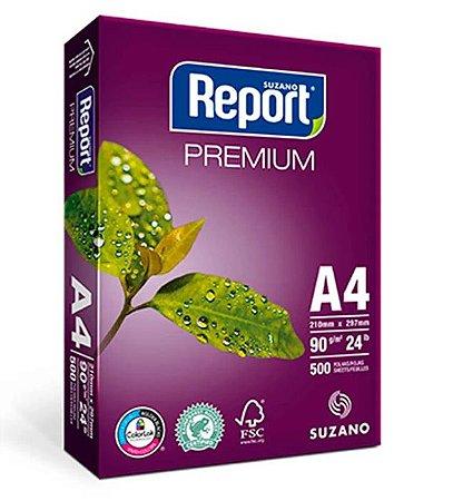 Papel Sulfite Report Premium A4 90g 500 folhas