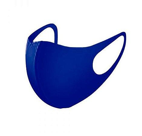 5 Máscara Facial Neoprene Adulto - Azul  Royal