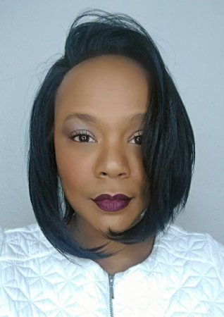 Lace Front Wig HL005 (cor 1b)