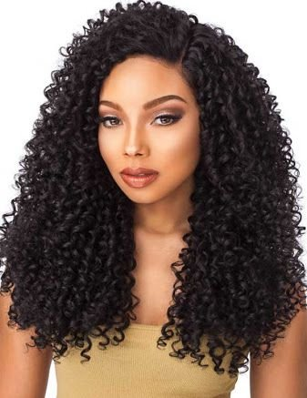 Sensationnel Custom Lace Boutique Bundles Lace Front Kinky Curl