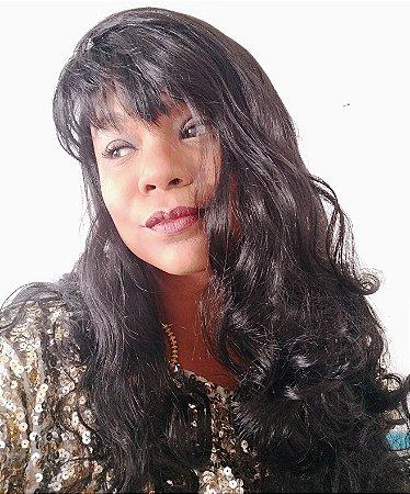 Wig Leah (cor: preta)