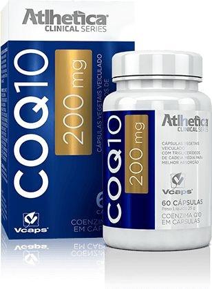 Coenzima Q10 - coq10 - 200mg 60 Cápsulas - Atlhetica Clinical Series
