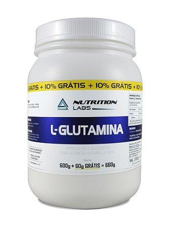 Glutamina  600 + 60g grátis -
