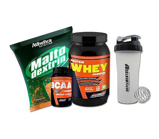 Kit Aumento Massa Muscular