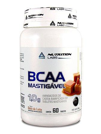 BCAA MASTIGÁVEL DOCE DE LEITE (60 Tabletes) 1g / cada
