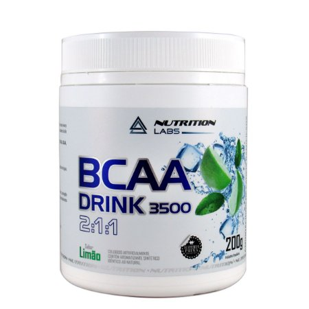Bcaa DRINK 3500 - 2:1:1 - 200g - Nutrition Labs