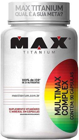 MULTIMAX COMPLEX (90 caps) Max Titanium