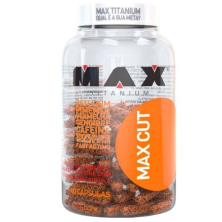 MAX CUT (60 cápsulas) - Max Titanium