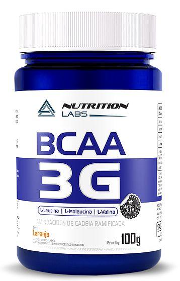 BCAA 3G em pó - Nutrition Labs